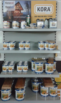 Koralan Holzöl Spezial - Reithamer Rundholzprodukte